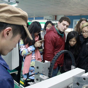 MIT Students Tour Manufacturing Facilities in China
