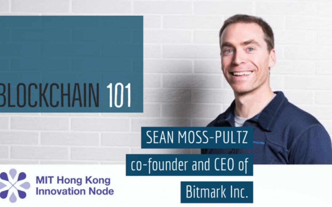 Video: 3Qs with Sean Moss-Pultz on Blockchain